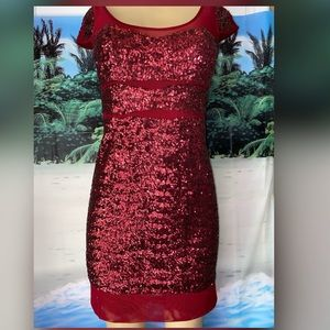 Betsy Johnson sequence dress